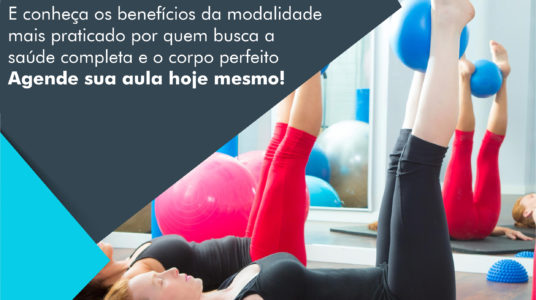 Venha fazer Pilates!